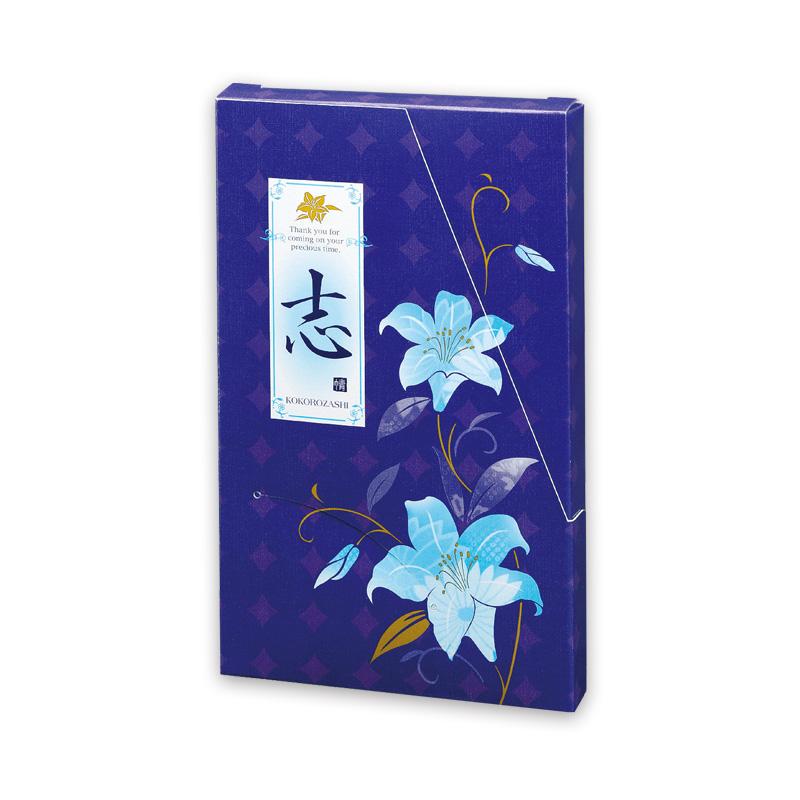 平袋カートン 百合の音〈紫〉50g×1袋詰